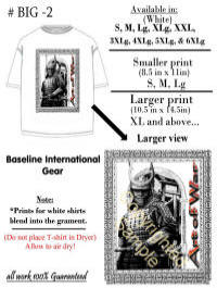 Maurice Skillern Messages Illistration T-Shirt Art of War