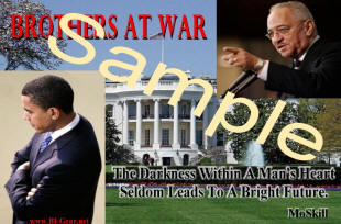 President Barrack Obama and Reverend Jeremiah Wright