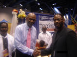 Maurice Skillern and Senior Pastor Kirbyjon Caldwell of Windsor Villiage United Methodist Church; Houston, Tx- 2008