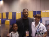 Maurice Skillern and supporters at The Houston Black Expo; Houston, TX- 2008